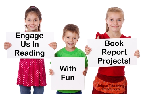 Fun Book Report Project Ideas For Teachers From Unique Teaching Resources