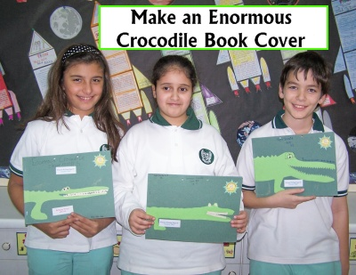 Enormous Crocodile Roald Dahl Fun Art and Book Cover Project Lesson Plans