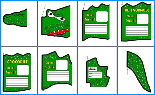 The Enormous Crocodile by Roald Dahl Printable Worksheets and Project Templates