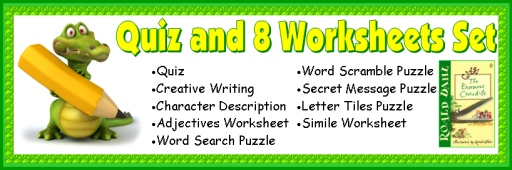 Enormous Crocodile Quiz, Printable Worksheets, and Fun Puzzles