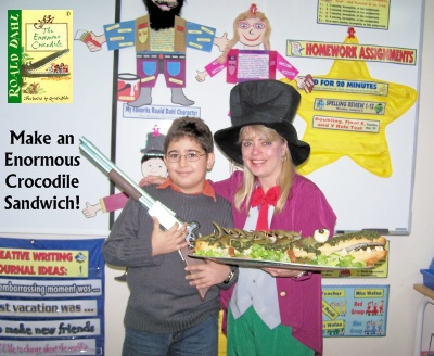 How To Make an Enormous Crocodile Sandwich Roald Dahl Fun Lesson Plans