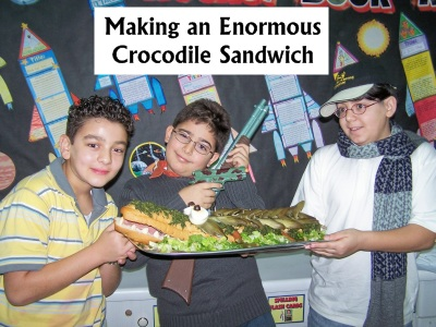 Roald Dahl Day Enormous Crocodile Sandwich Recipe and Ideas for Lesson Plans