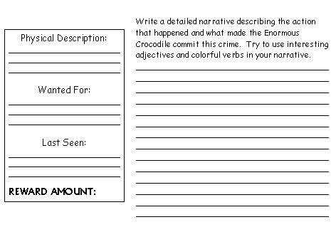 descriptive writing prompts 4th grade