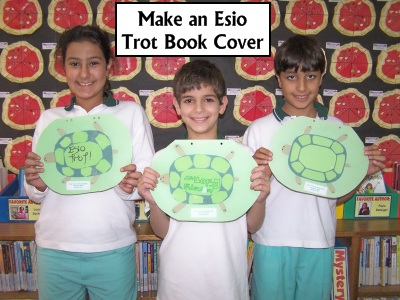 Esio Trot Roald Dahl Fun Art and Book Cover Project Lesson Plans