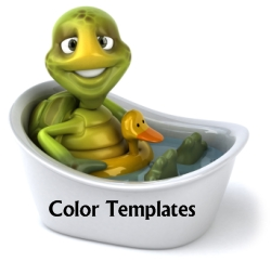 Esio Trot Color Templates