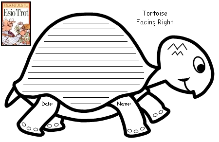Esio Trot Roald Dahl Creative Writing Turtle Shaped Template