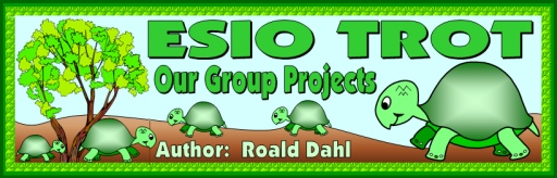 Esio Trot by Roald Dahl Free Bulletin Board Display Banner