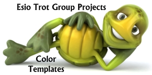 Esio Trot Group Project Color Templates and Worksheets for Students