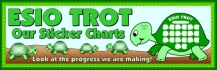 Esio Trot Turtle Sticker Charts Bulletin Board Banner