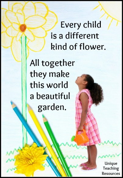 Quotes About Children - Every child is a different kind of flower.