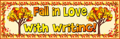 Fall Writing Bulletin Board Display Banner Example