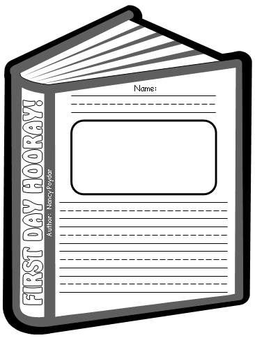 First Day Hooray Creative Writing Worksheets for Back To School
