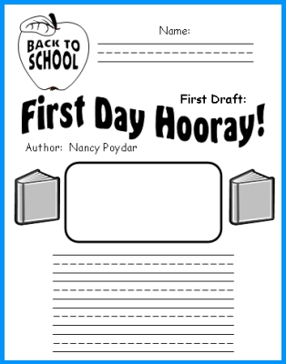 First Day Hooray Lesson Plans: Author Nancy Poydar