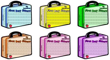 First Day Jitters Back to School Teaching Resources