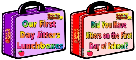 First Day Jitters Julie Danneberg Classroom Bulletin Board Display Ideas