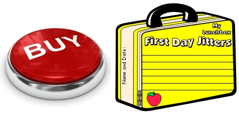 Buy First Day Jitters Lunchbox Templates Now