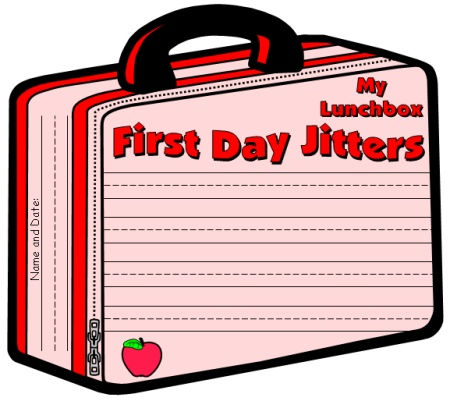 First Day Jitters Back to School Lesson Plans