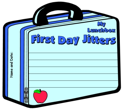 First Day Jitters Lunchbox Templates Julie Danneberg