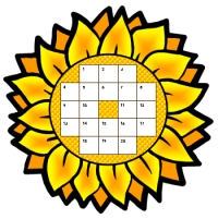 Yellow Flower Sticker Charts and Templates