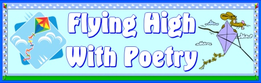 Spring Kite Poetry Bulletin Board Display Banner