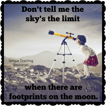 Quote About Nature Footprints On the Moon