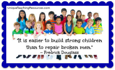 Fredrick Douglass Quote About Children and Education