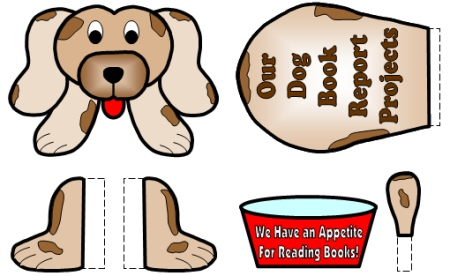 Free Book Report Project Dog Templates