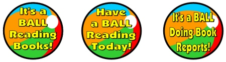Free Reading Balls Bulletin Board Display Accent Pieces
