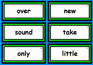 Free Fry Sight Words Flashcards and Word List Group 2