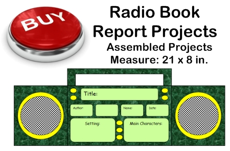 Fun Book Report Project Ideas - Radio Templates