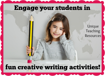 Fun Creative Writing Activities For Elementary School Students