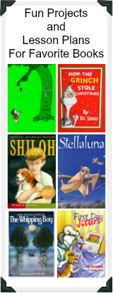 Fun Projects and Lesson Plans For Childrens Books