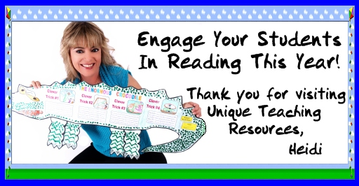 Fun Reading and Book Report Projects and Activities for Elementary School Students
