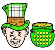 Fun St Patricks Day Leprechaun Sticker Charts and Templates For Teachers