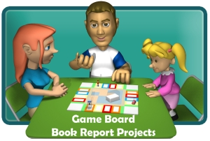 Monopoly Game Board Book Report Projects