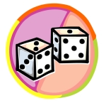 Game Board Dice