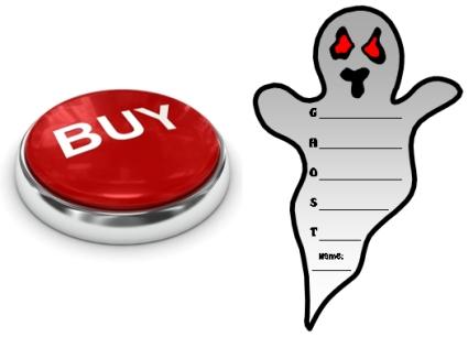 Buy Ghost Acrostic Poems Now