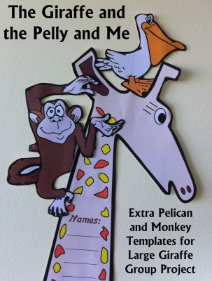 Roald Dahl Fun Lesson Plans for The Giraffe and the Pelly and Me