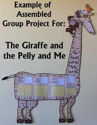 Roald Dahl Ideas for Activities and Projects for The Giraffe and the Pelly and Me