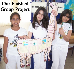 Roald Dahl Fun Group Project Activities for The Giraffe and the Pelly and Me