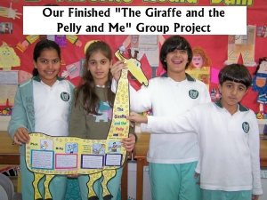 Fun Group Project Ideas for The Giraffe and the Pelly and Me author Roald Dahl