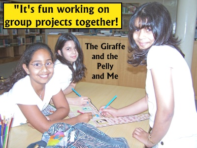 The Giraffe and the Pelly and Me by Roald Dahl Photograph and Examples of Fun Group Projects