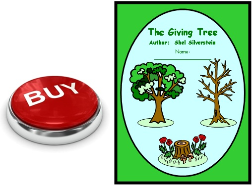 Buy The Giving Tree by Shel Silverstein Lesson Plans for Teachers Now
