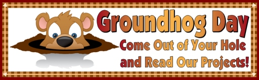 Groundhog Day Classroom Bulletin Board Display Banner For Teachers
