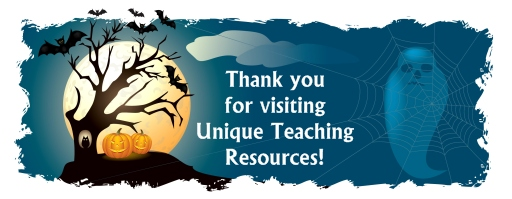 Halloween Teaching Resources and Lesson Plans Banner