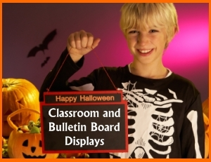 Examples of Halloween Bulletin Board Displays for Elementary School Classrooms