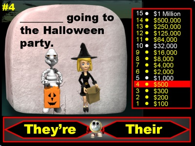 Fun Halloween Powerpoint Presentation and Lesson Plans Homophones