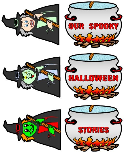 Halloween Creative Writing Lesson Plans and Fun Witch Templates and Projects