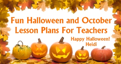 Halloween Lesson Plans and Fun Activities for Elementary School Students