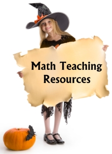 Fun Halloween Math Teaching Resources and Lesson Plans